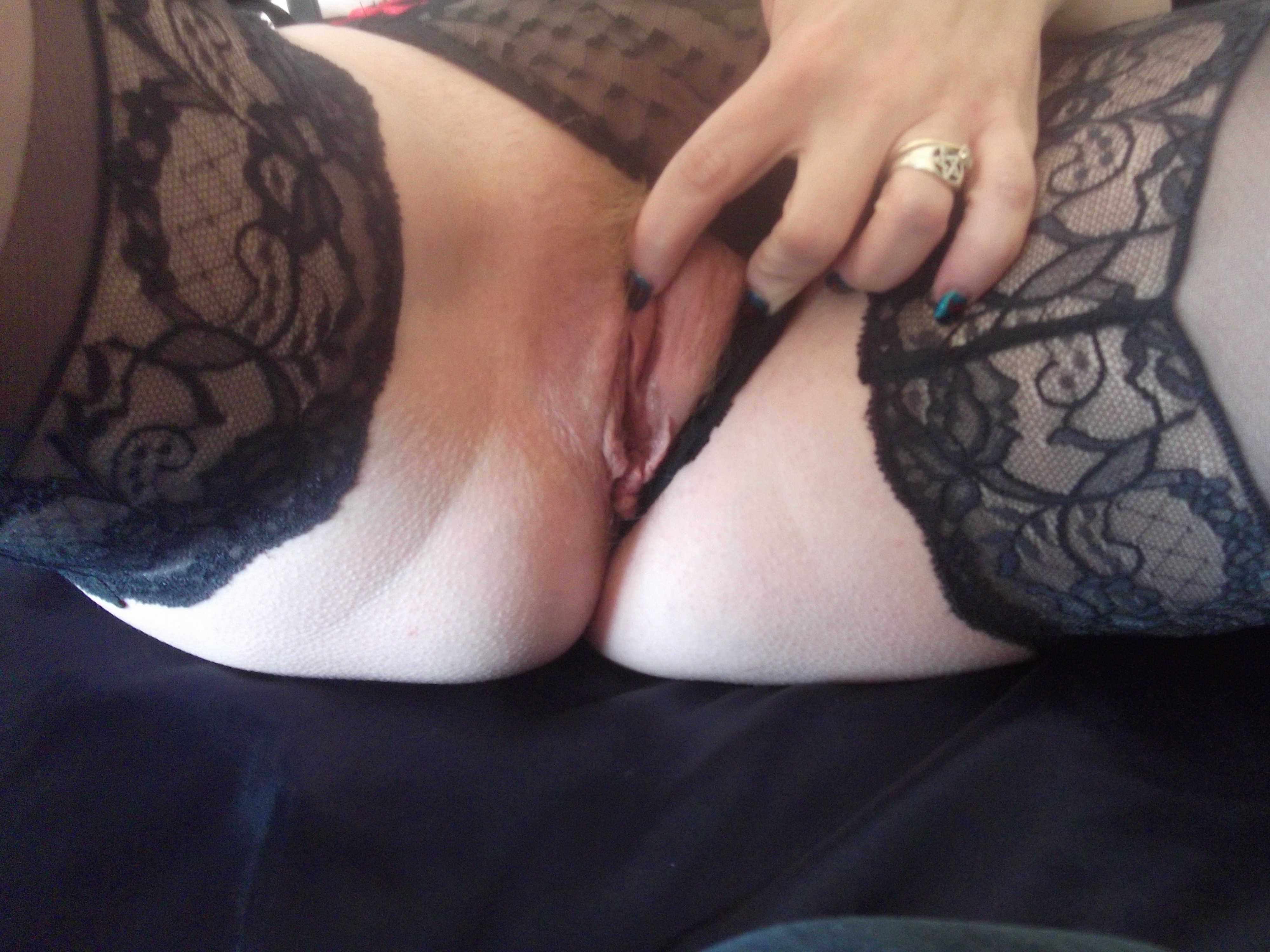 Panties to one side