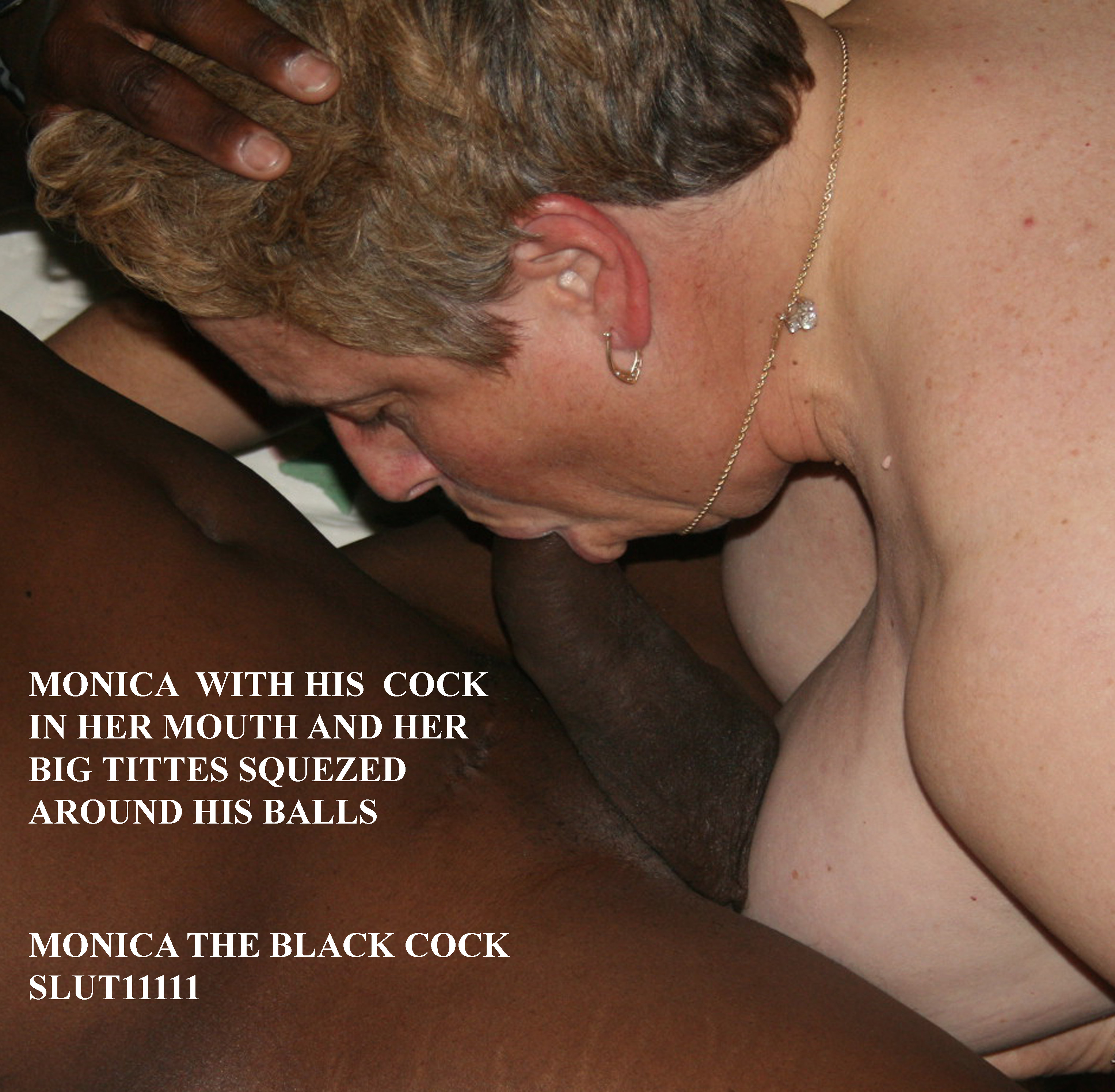 monica always has a cock in her mouth